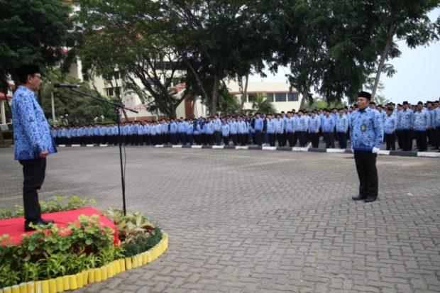 , Peringati Hari Kemerdekaan RI Ke 74, BP Batam Melaksanakan Upacara Pengibaran Bendera Merah Putih, SamuderaKepri