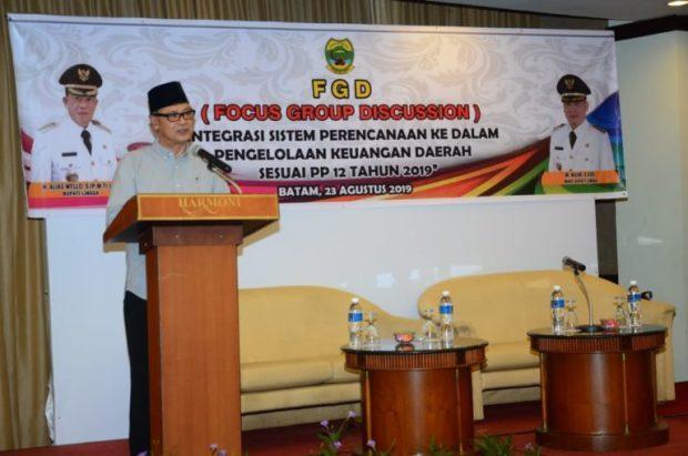 , Institut Pemerintahan Dalam Negeri Berikan Pemahaman Guna Selesaikan Permasalahan Di Lingga, SamuderaKepri