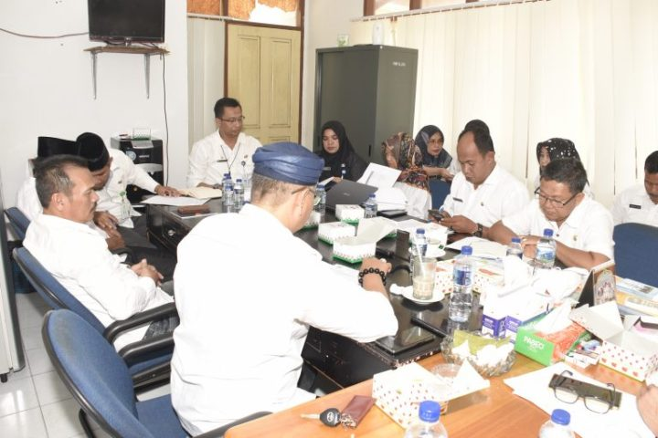 Gesa RAPBD Tahun 2020, Komisi I DPRD Natuna Raker Dengan Dinkesdalduk dan KB