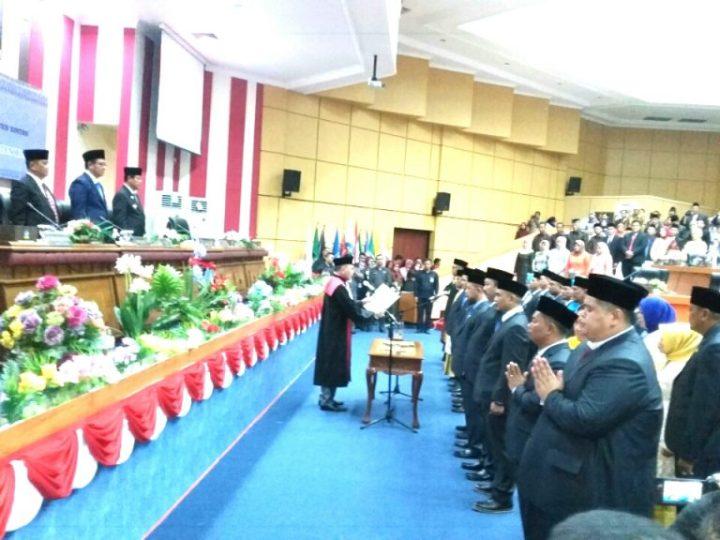 25 Anggota DPRD Kabupaten Bintan Dilantik Priode 2019-2024, SamuderaKepri