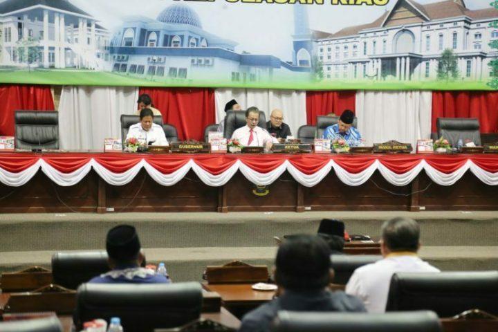 Rapat Paripurna DPRD Provinsi Kepulauan Riau Tahun 2019