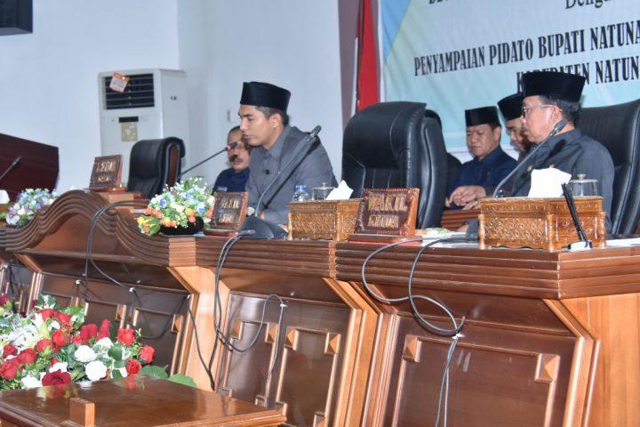 , Rapat Paripurna DPRD Kabuapten Natuna Tentang Ranperda – Ranperda Kabupaten Natuna Tahun 2020, SamuderaKepri