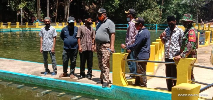 Kunjungan Kerja Bupati Kabupaten Kepulauan Anambas Abdul Haris Di Kecamatan Jemaja Timur