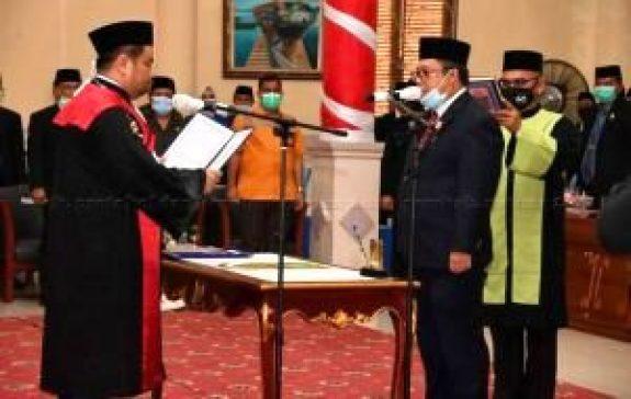 Daeng Amhar Resmi Menjadi Ketua DPRD Natuna Periode 2019-2024, SamuderaKepri