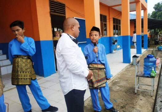 Komisi I DPRD Natuna Sidak Ke Sekolah Di Perberbatasan, SamuderaKepri
