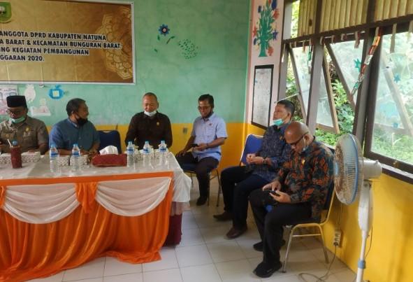 DPRD Natuna Beberkan  Hasil Monitoring dan Evaluasi Pembangunan Fisik tahun 2020, SamuderaKepri