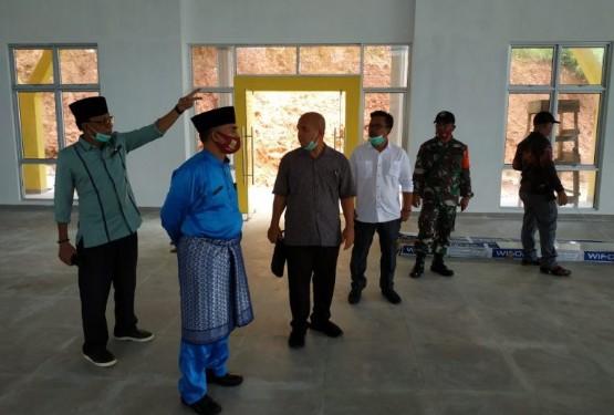 Anggota DPRD Natuna Tinjau Pembangunan di Dapil II, SamuderaKepri