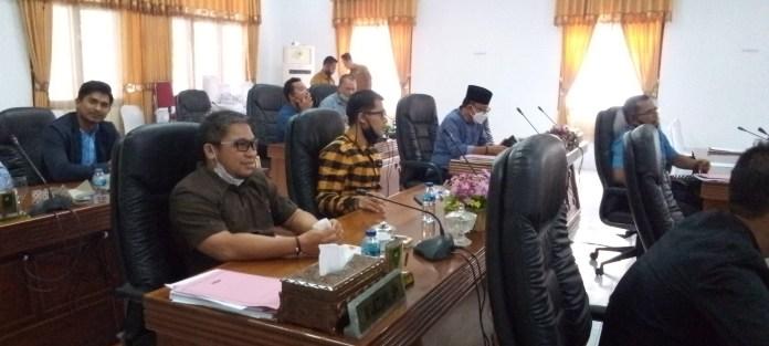 Ketua DPRD Kabupaten Natuna Pimpin Paripurna Pengesahan dan Pemberhentian Kepala Daerah, SamuderaKepri