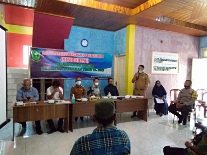 Sebagai Musrembang Penutup Desa Sepempang di Hadiri Komisi I DPRD Natuna, SamuderaKepri