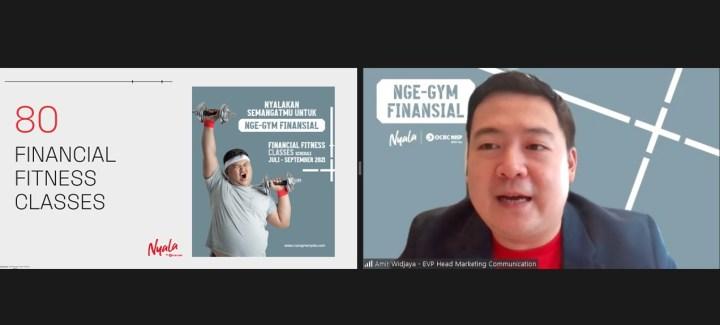 NYALA   OCBC NISP Ajak Generasi Muda Nge-Gym Finansial Untuk Raih Kondisi Finansial yang Fit, SamuderaKepri