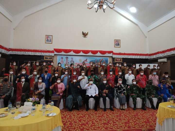Bupati Karimun Kukuhkan 32 Pengurus PBKK Periode 2021-2024, SamuderaKepri