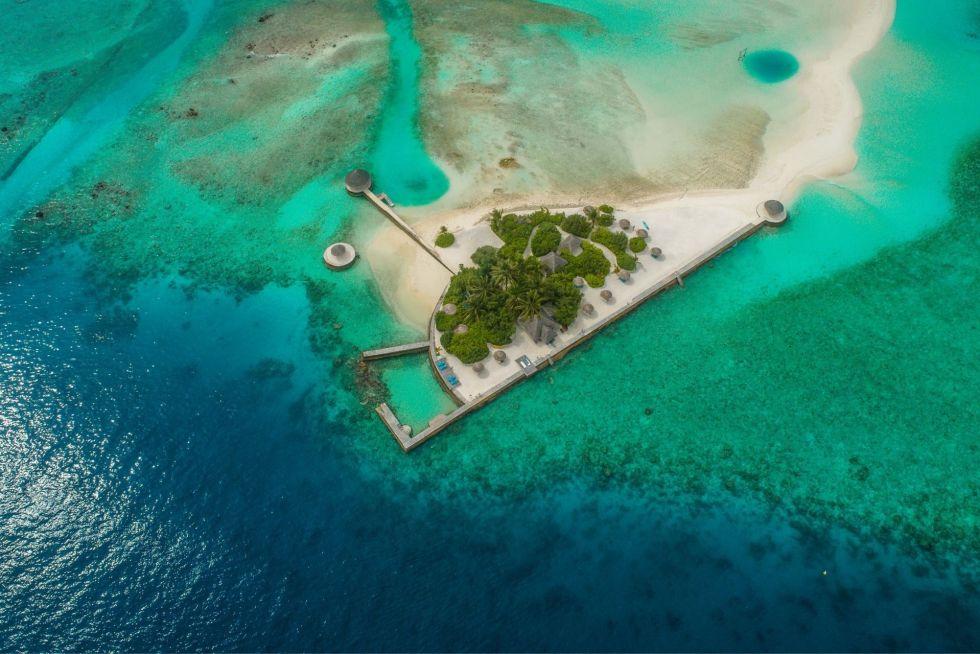 Arrival Jetty at Anantara Dhigu Resort Maldives