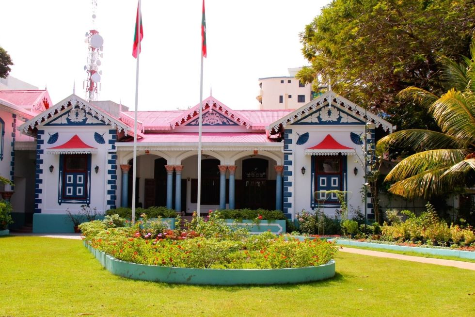 Mulee Aage - The official residence of the President of The Maldives