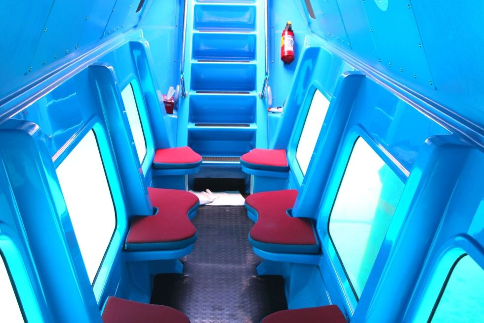 Experience the Undersea World in a Submarine