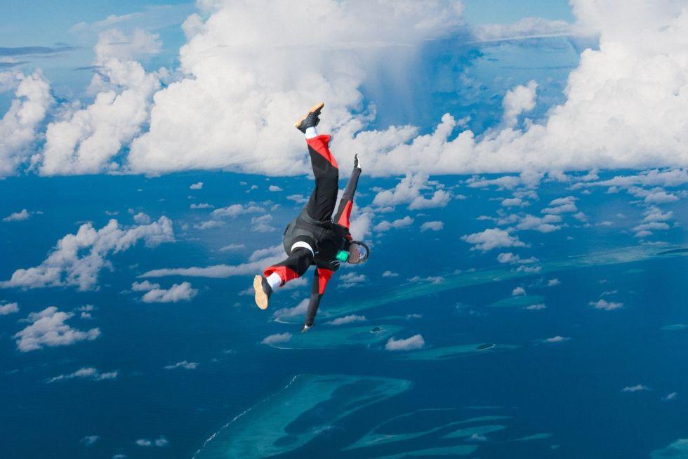 Skydive at Kandima Maldives