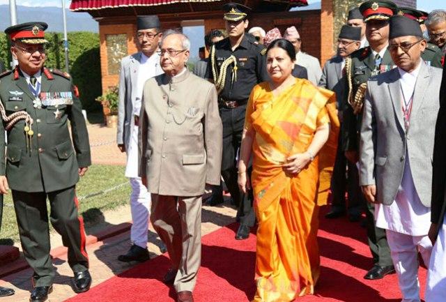 pranab mukherjee Nepal