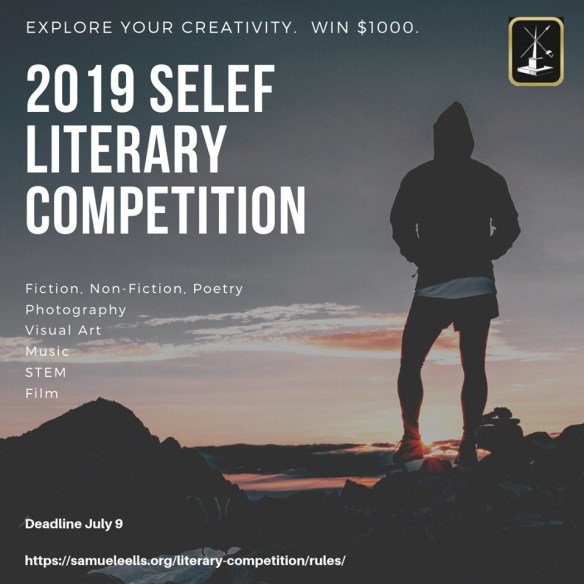 Undergraduate Literary Competition 2018 Advertisement