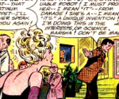Dr. Magnus flustered