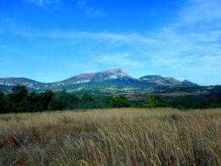 Ausblick aus meinem Zelt in Serbien
