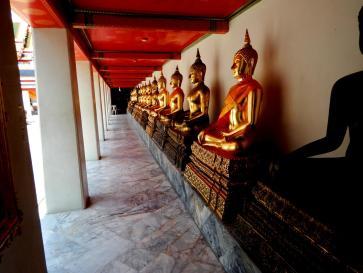 Buddha-Statuen in Bangkok