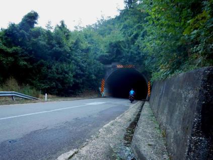 Ein Tunnel in Serbien