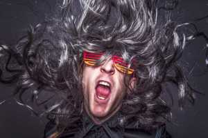 Rocking guy with hair flying. Samuel Pavin blog - how to optimise SEO