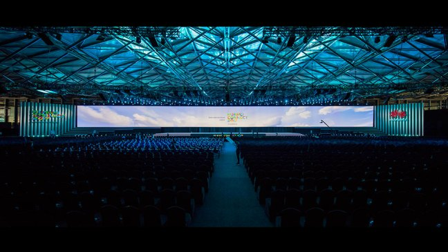 Huawei Connect 2017 main stage