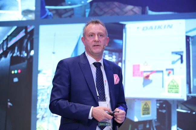 Rob Newman, Dubai airport at Huawei Connect