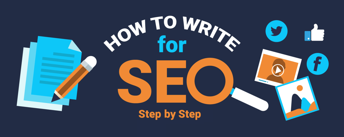 Write for SEO Infographic - Step by Step Guide