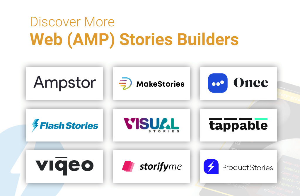 Discover Web Stories builder