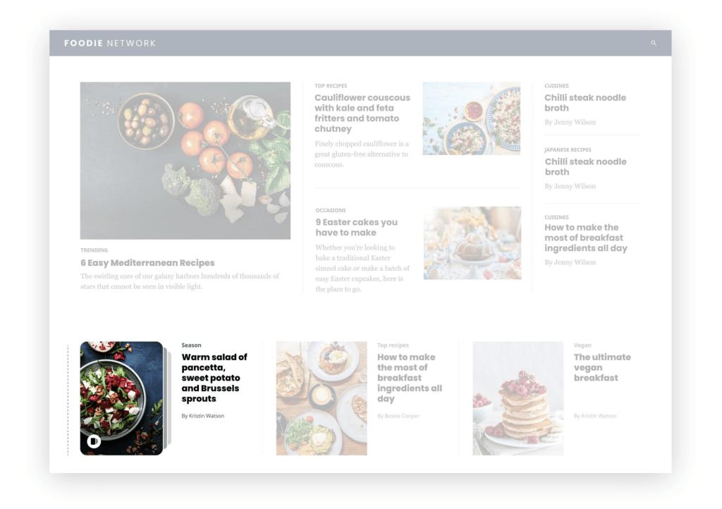 web story embeded in a website