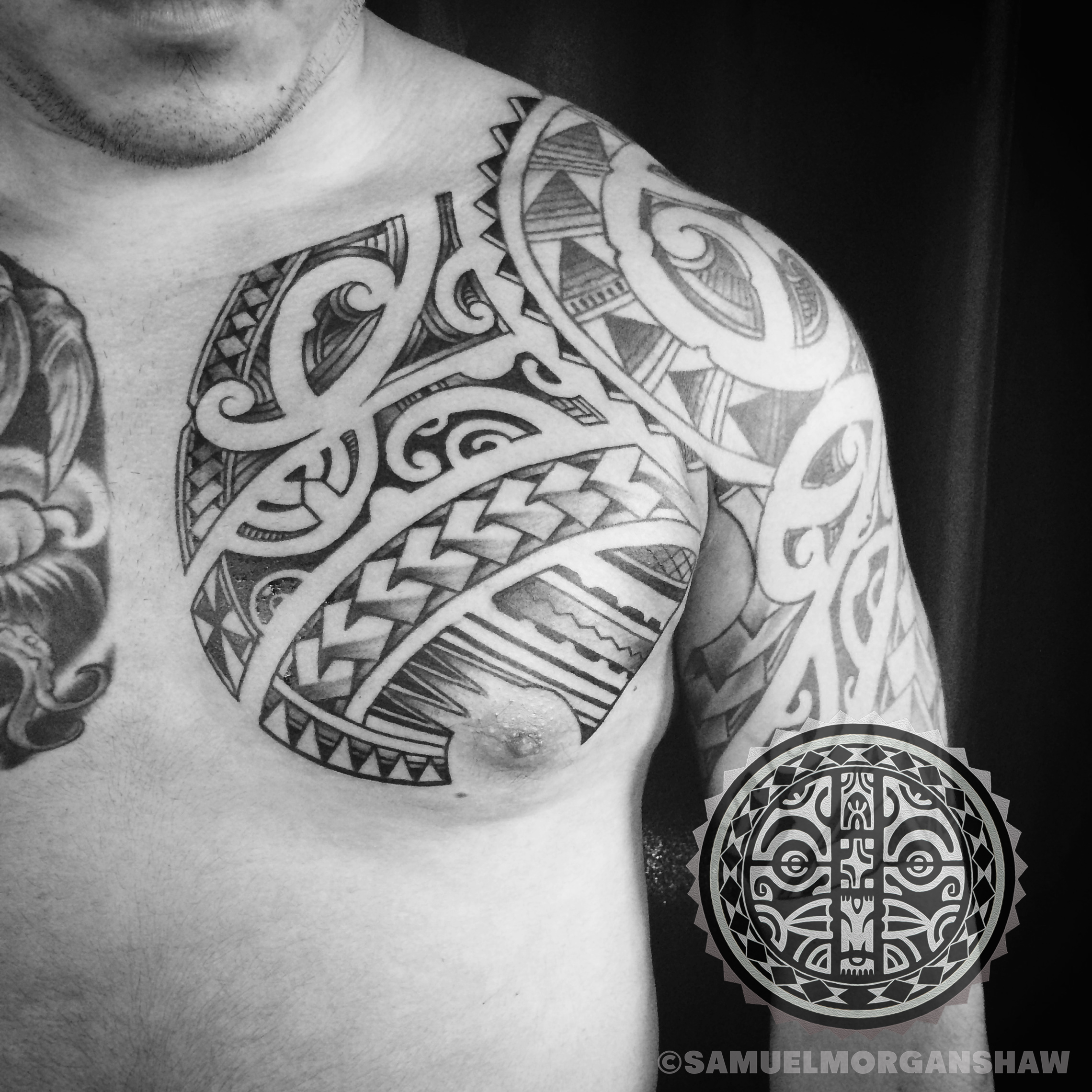 Freehand Polynesian Kulture Tattoo Kollective