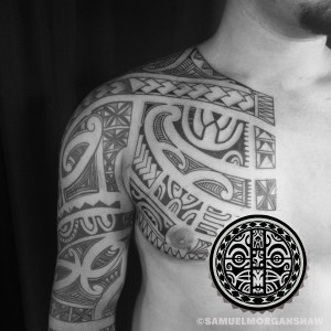 Polynesian Tattoo by Samuel Shaw