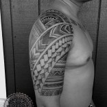 Filipino and small kine Samoan patterns