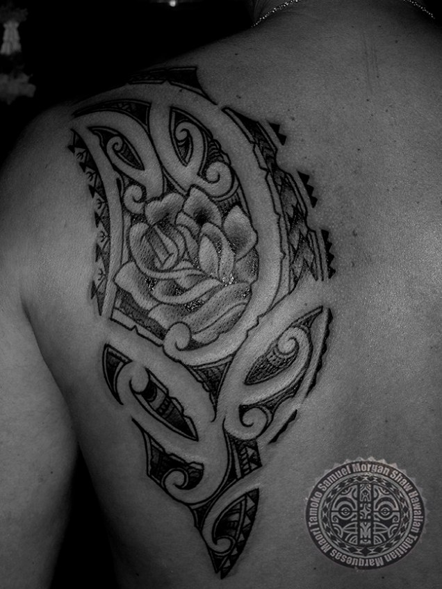 Maori Tamoko and the Rose for his daughter