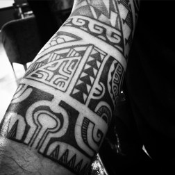 Freehand on arm
