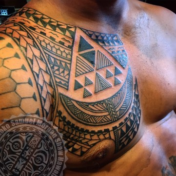 A mix-plate collection of Polynesian and South Seas style tattooing ...