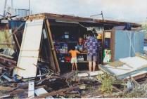 Destroyed by hurricane Iniki Sept 11 1992 1