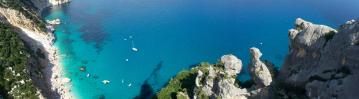 Climbing in Cala Gonone, Sardinia