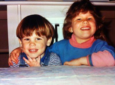 Samuel Trepanier and his sister Pamella