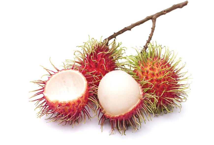 Top 15 fruits - Rambutan (Ngor)