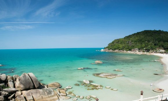 Want to move to a tropical island and start your life over?