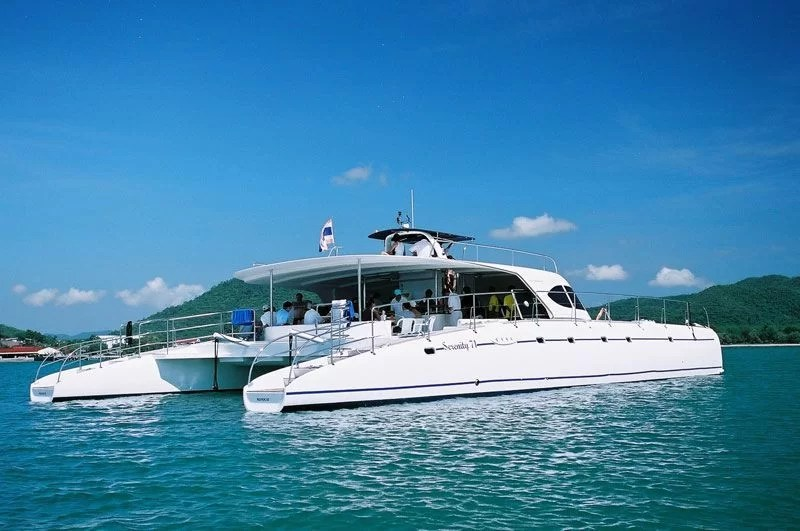 Luxury Motor Catamaran