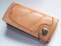 レザーロングウォレット(革財布) ダメージレザー
