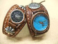 レザーウォッチ(腕時計)ナチュラルサドルの経年変化