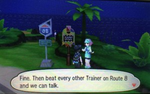 The Ace Trainer on Route 8