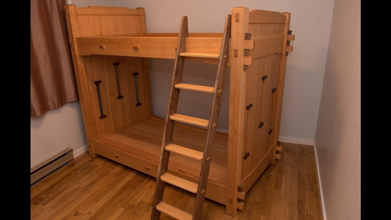 Building A Bunk Bed For My Boys The Samurai Carpenter