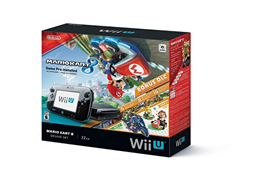 Nintendo Wii U 32 GB Mario Kart 8 (Pre-Installed) Deluxe Set (Certified Refurbished)
