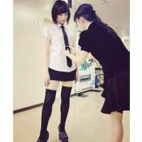【Breaking News】 Ayane Sakura's Knee High Cosplay is too angelic
