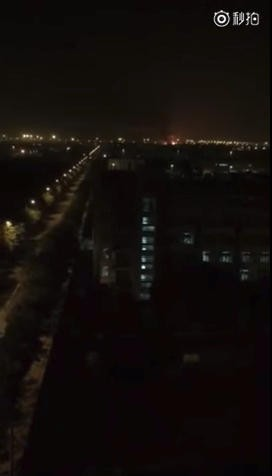 Fuji TV introduces the explosion image of aluminum factory in Okayama prefecture as its own acquisition → It was an explosion accident in Tianjin, China in 2015